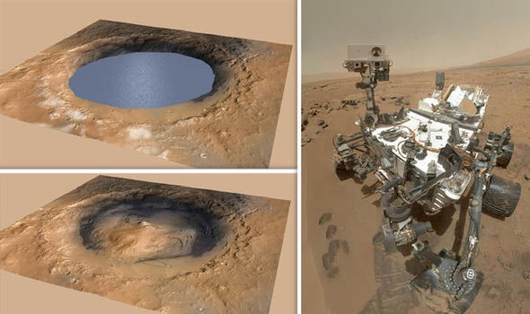 NASA life on Mars: Organic matter discvoery