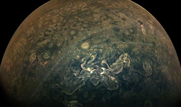 NASA news: Juno spacecraft's picture of Jupiter looks like ...