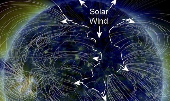 SOLAR STORM Hole in the Sun ejects cellphonekilling