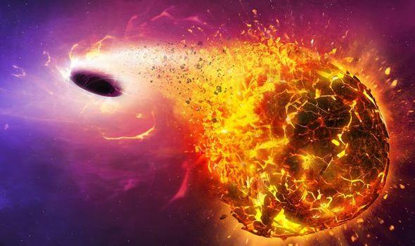 Black hole fears: NASA's prediction for Earth over Sun ...