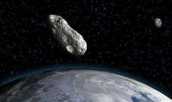 October 12 Asteroid flyby: Path tracker of 2012 TC4 as it ...