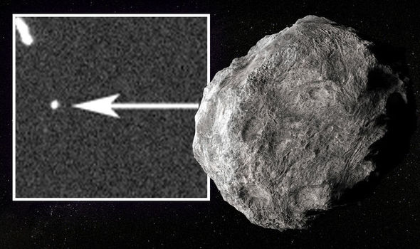 Asteroid Apophis pictured in deep space