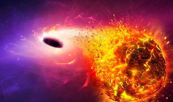 Black hole shock NASA watches black hole DESTROY star