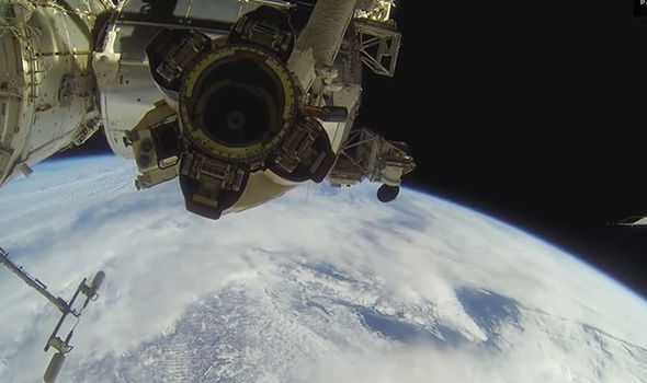 NASA space walk WATCH LIVE WEBCAM: Astronauts venture out ...