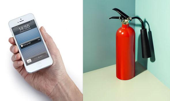 phone extinguisher