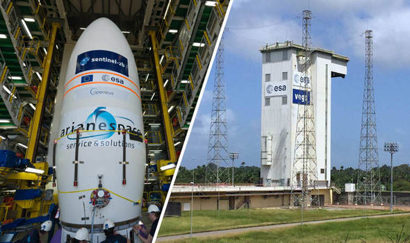 Sentinel satellite ready for launch