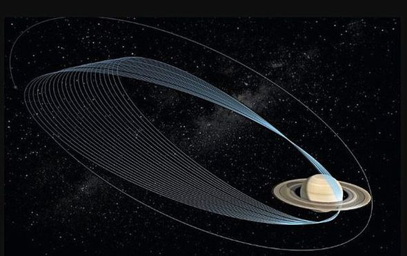 The Cassini craft will plunge into Saturn