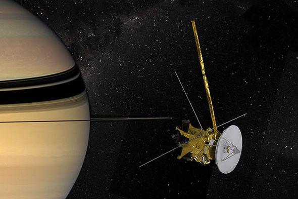 Cassini LIVE stream: Watch NASA live stream of Cassini ...