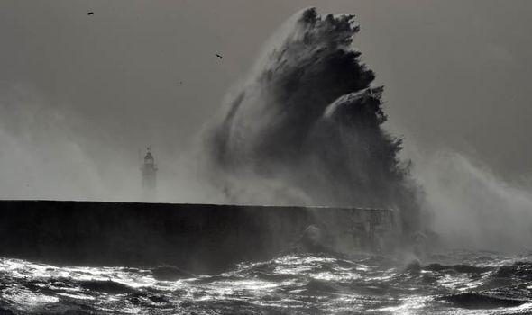 Storm Doris hits the UK