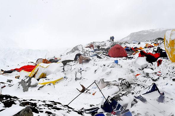 Everest height
