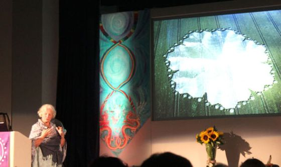 Francine Blake speaks at Glastonbury Symposium