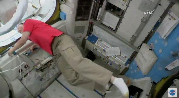 NASA live stream ISS space walk watch online