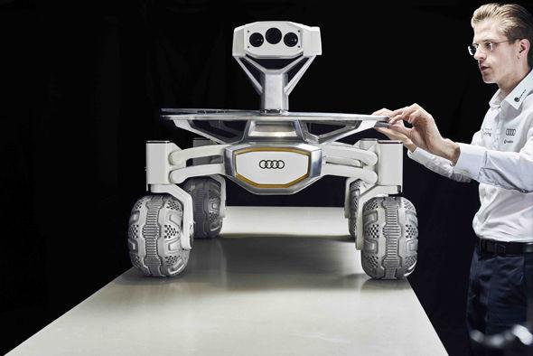 Robert Boehme & Audi Lunar Quattro