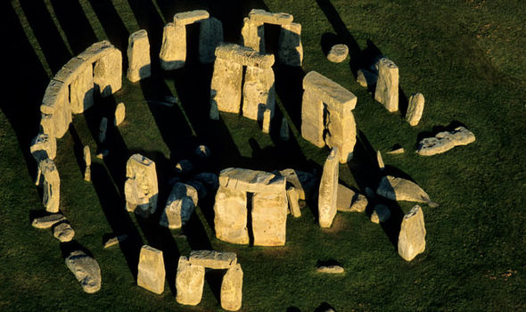 Mysterious: Stonehenge in Wiltshire