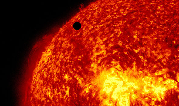 The sun science hole World War 3 9/11