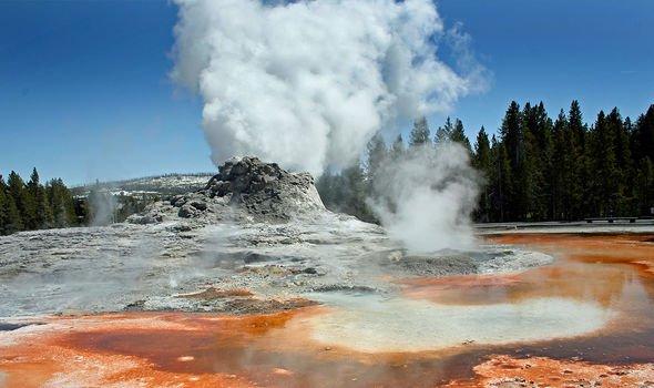 Yellowstone volcano last had a supereruption 640,000 years ago