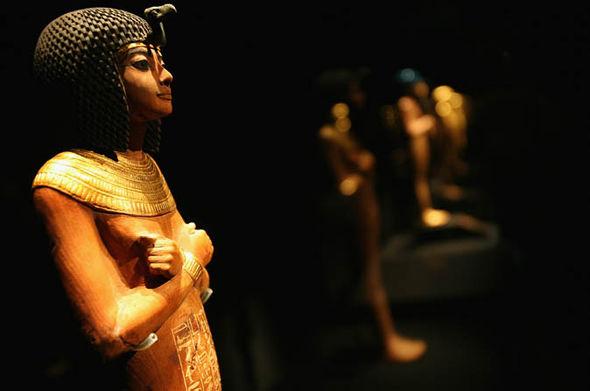 An ancient Egyptian mummy
