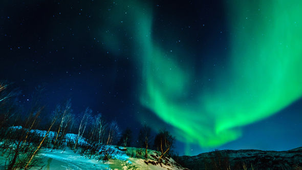 TECH BLACKOUT Huge solar storm which could WIPE OUT