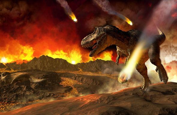 Bildergebnis für tyrannosaurus rex asteroid