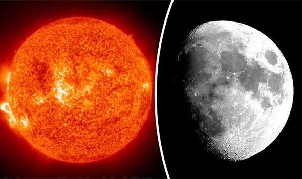 solar storm moon