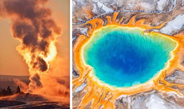 Image result for Yellowstone Vulcano