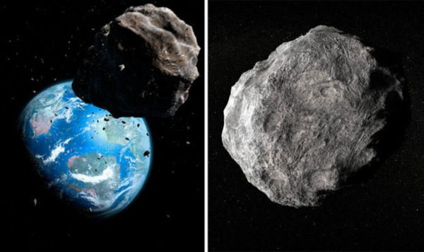 NASA asteroid warning: Giant space rock on Earth Close ...