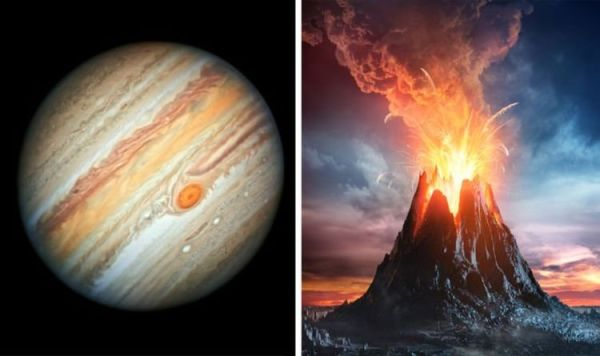 Jupiter shock: Volcano on Jupiter's moon Io is about to ...