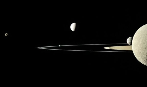 NASA picture of the day: Cassini satellite captures 5 of ...