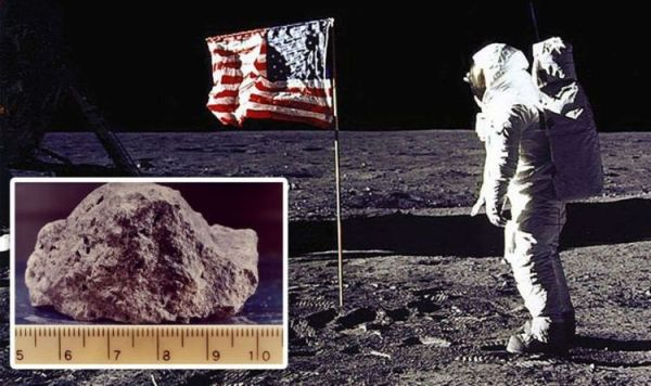 Moon landing: 'Monumental failure' exposed by rock expert ...