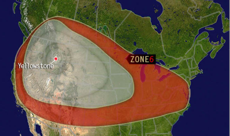 Yellowstone Volcano Eruption Zone Millions Stranded