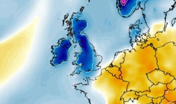 UK weather forecast  SHOCK weather map shows temperatures PLUMMET     UK weather forecast BBC UK today latest Met Office
