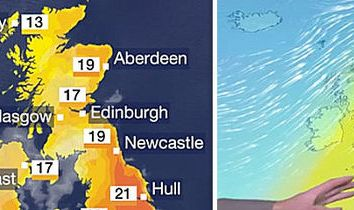HD Decor Images » BBC weather   Glorious day  with SCORCHING highs of 25C hit UK TODAY     BBC weather forecast