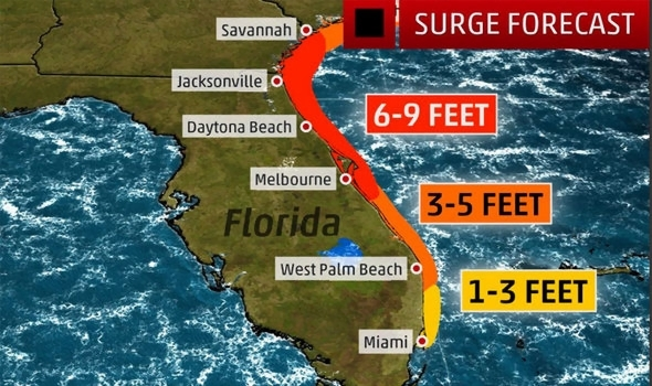 Hurricane Matthew update  Tracking map  latest path  live weather     Weather Channel