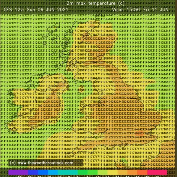 UK hot weather forecast: The hottest day of the year could strike later in the week