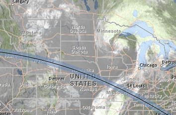 HD Decor Images » Solar eclipse 2017  Weather forecast for total solar eclipse in US     Cloud map of the US on solar eclipse day