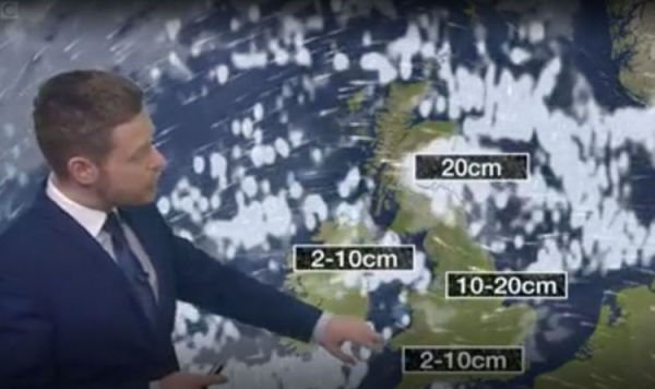 BBC Weather forecast SNOW: Where and when UK will be hit ...