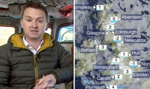BBC News weather: Forecast warns 'heavy snow' for UK ...