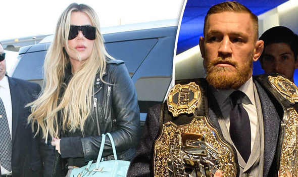 Khloe Kardashian and Conor McGregor