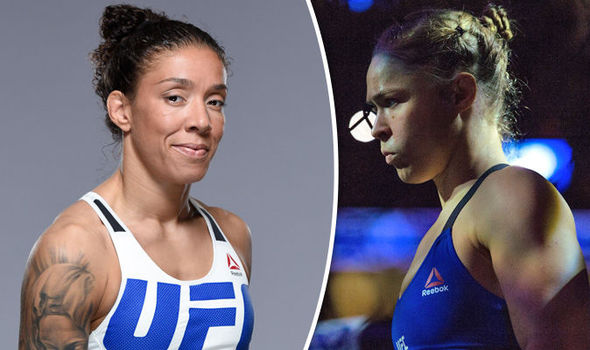 Ronda Rousey and Germaine de Randamie UFC fighters