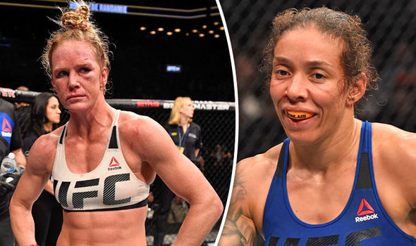 UFC 208 Holly Holm Germaine de Randamie