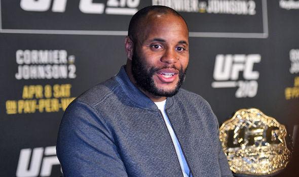 UFC 210 headliner Daniel Cormier
