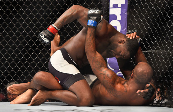 Anthony Johnson and Jimi Manuwa