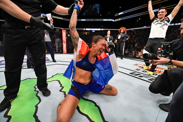 Germaine de Randamie at UFC 208