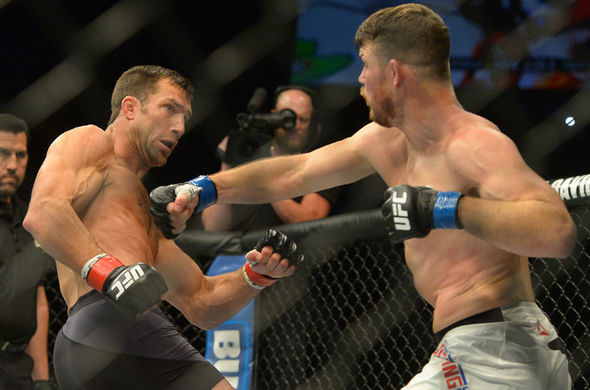UFC stars Luke Rockhold and Michael Bisping
