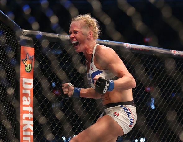 UFC 208 star Holly Holm