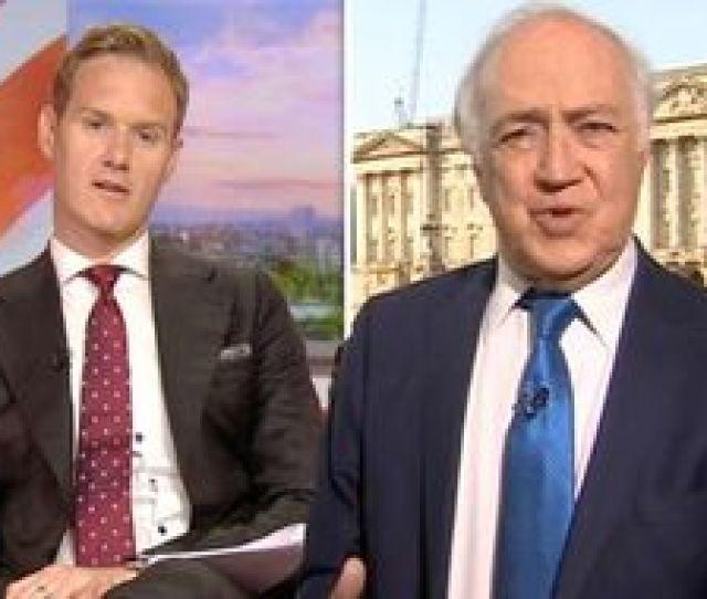 Bbc News Dan Walker Corrected By Michael Howard Over Blunder