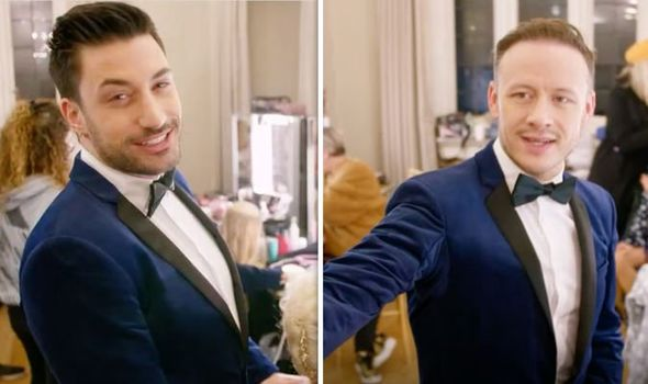 Strictly 2019: 'Take your fingers off!' Kevin Clifton points warning to Giovanni Pernice 1216496 1