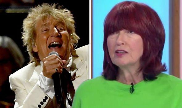 Unfastened Girls: 'Rod Stewart is the world's stingiest man' Janet Road-Porter slams rocker