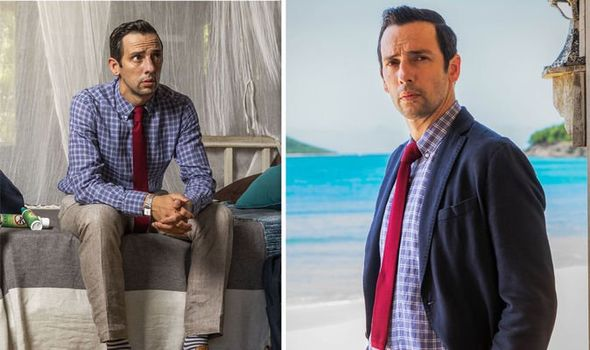 Dying in Paradise: 'I've received 4 months' Ralf Little speaks out on new problem