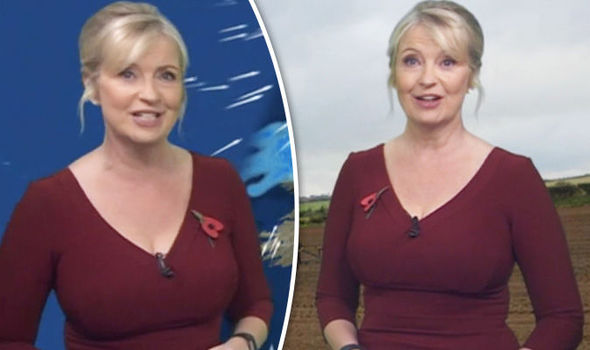 Carol Kirkwood wouldn't have scared off viewers